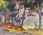 Henri Edmond Cross - The Pine Wood (Provence)