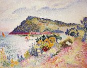 Henri-Edmond Cross - The Black Cape, Pramousquier Bay