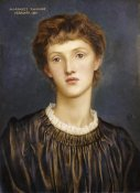 Evelyn De Morgan - Portrait of Margaret Rawlins