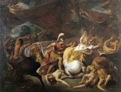Jean-Francois De Troy - The Battle of The Lapithes and The Centaurs