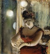 Edgar Degas - Singer In a Cafe