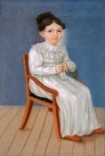 William S. Doyle - Portrait of a Little Girl