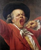 Francois-Joseph Ducreux - Self-Portrait As a Yawning Man
