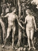 Albrecht Durer - Adam and Eve