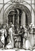 Albrecht Durer - The Betrothal of The Virgin