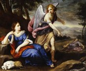 Florentine School - The Angel Appearing To Hagar
