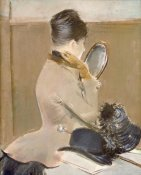 Jean-Louis Forain - The Milliner's Shop