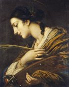 Baldassare Franceschini - Saint Catherine of Alexandria
