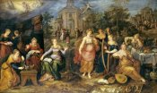 Frans Francken - The Parable of The Wise and Foolish Virgins