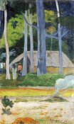 Paul Gauguin - Hut In The Trees