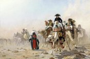 Jean Leon Gerome - Napoleon and His General Staff In Egypt