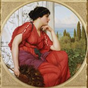 John William Godward - Reverie