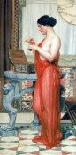 John William Godward - The New Perfume