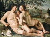 Hendrick Goltzius - The Fall of Man