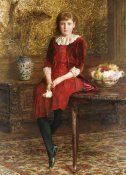 Edward John Gregory - Portrait of Mabel
