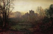John Atkinson Grimshaw - An October Afterglow