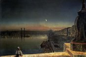 John Atkinson Grimshaw - Rouen at Night