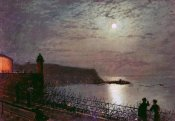 John Atkinson Grimshaw - Scarborough By Moonlight