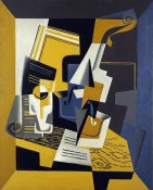 Juan Gris - A Violin and Glass