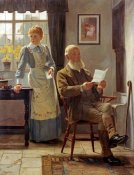 James Hayllar - The Letter
