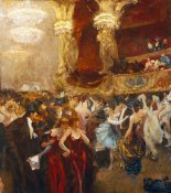 Charles Hermans - The Masked Ball at L'Opera