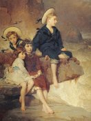 George Elgar Hicks - The Children of Sir H. Hussey Vivian