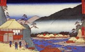 Hiroshige - Seven Hot Springs at Hakone