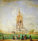 Edwin Frederick Holt - The Albert Memorial, London