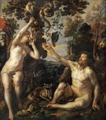 Jacob Jordaens - The Temptation