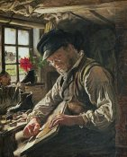 Peter Severin Kroyer - A Shoemaker In Arildsleje
