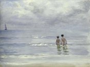Peter Severin Kroyer - Boys Bathing On The Beach at Skagen