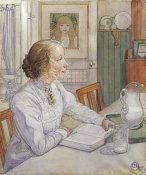 Carl Larsson - My Eldest Daughter