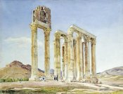 A. Lavezzari - The Temple of Olympian Zeus, Athens