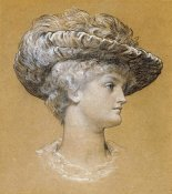 Lord Frederick Leighton - Portrait of Dorothy Dene