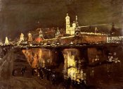 Isaac Ilich Levitan - The Illumination of The Kremlin