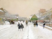 Luigi Loir - Paris In The Snow