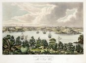Joseph Lycett - North View of Sidney, New South Wales