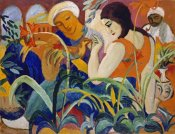 August Macke - Eastern Women
