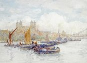 Herbert Menzies Marshall - The Tower of London From The Thames
