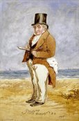 Charles Martin - Portrait of Joseph Mallord William Turner