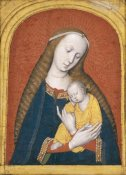 Master Of The Dijon Madonna - The Virgin and Child
