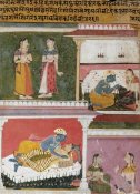 Mewar - Illustration From The Rasikapriya of Keshau Das