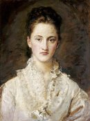 John Everett Millais - Portrait of The Artist's Daughter
