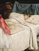 John Everett Millais - Sleeping