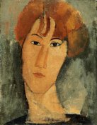 Amedeo Modigliani - A Young Woman
