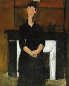 Amedeo Modigliani - Woman Sat By a Fireplace