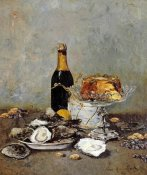 Victor Morenhout - Oysters, Cake and a Bottle of Champagne