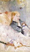 Berthe Morisot - Young Girl With a Puppet