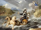 Jean Nocret - An Allegory of King Louis XIV