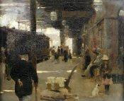 Walter Osborne - Hastings Railway Station